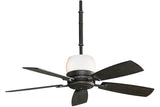 "Fanimation HF7240DS 54"" Hubbardton Forge Ceiling Fan in Dark Smoke"