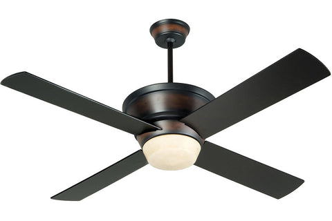 "Craftmade KI52OBMA4 52"" Kira Ceiling Fan in Oiled Bronze with Mahogany Undertons"