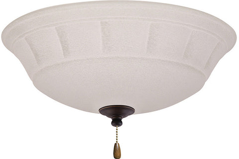 Emerson LK141LEDGES Golden Espresso Grande White Mist LED Light Fixture