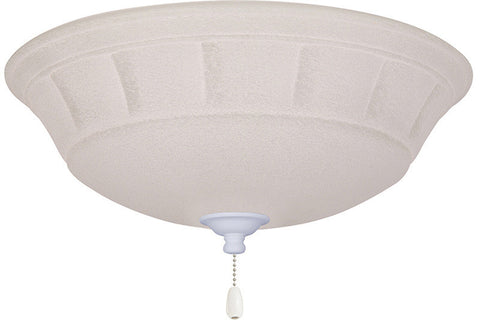 Emerson LK141LEDSW Satin White Grande White Mist LED Light Fixture
