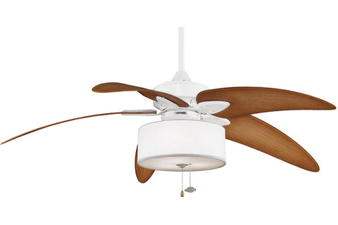 "Fanimation MA7500MW-BPW6090DNA-LK113WH 52"" Windpointe Ceiling Fan in Matte White"