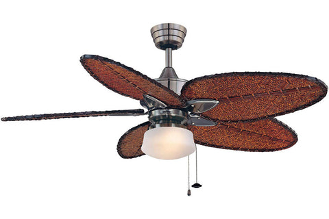 "Fanimation MA7500PW-ISD4A-LKLP112WPW 52"" Windpointe Ceiling Fan in Pewter"