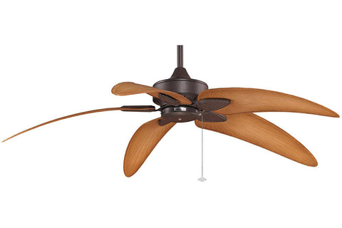 "Fanimation MA7500RS-BPW6090DNA 52"" Windpointe Ceiling Fan in Rust"