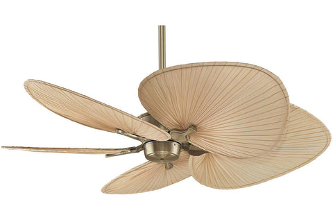 "Fanimation MAD3250AB-ISP1 52"" Islander Ceiling Fan in Antique Brass"