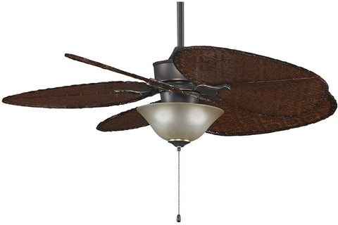 "Fanimation MAD3250BA-ISD1A-F423BA-G453 52"" Islander Ceiling Fan in Bronze Accent"
