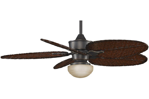 "Fanimation MAD3250BA-ISD4A-LKLP111ABA 52"" Islander Ceiling Fan in Bronze Accent"