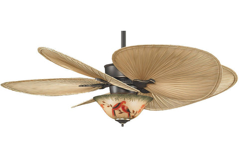 "Fanimation MAD3250BA-ISP1-F423BA-G439 52"" Islander Ceiling Fan in Bronze Accent"