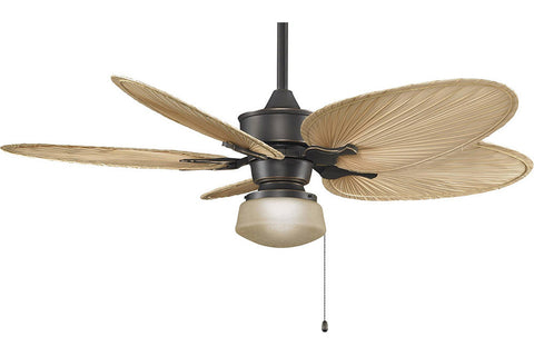 "Fanimation MAD3250BA-ISP4-LKLP112ABA 52"" Islander Ceiling Fan in Bronze Accent"