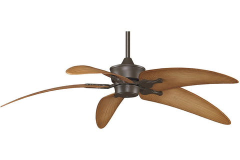 "Fanimation MAD3250OB-BPW6090DNA 52"" Islander Ceiling Fan in Oil-Rubbed Bronze"