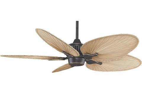 "Fanimation MAD3255BA-ISP4 52"" Louvre Ceiling Fan in Bronze Accent"