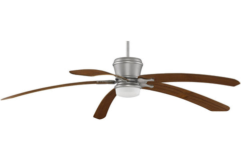 "Fanimation MAD3260SN-B6000TK 80"" Sandella Ceiling Fan in Satin Nickel"