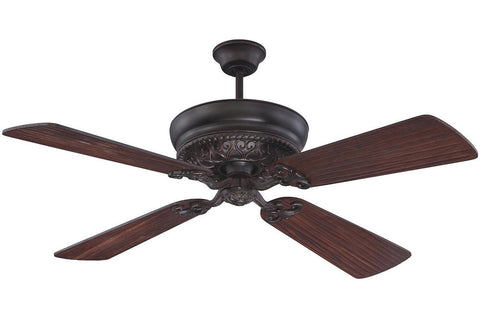 "Craftmade MNR52OBG 54"" Monroe Ceiling Fan in Oiled Bronze Gilded"