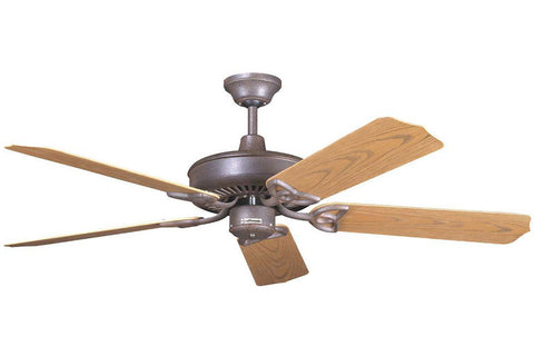"Craftmade OPXL52RI 52"" Patio Ceiling Fan in Rustic Iron"