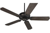 "Craftmade PF52OB 52"" Porch Ceiling Fan in Oiled Bronze"