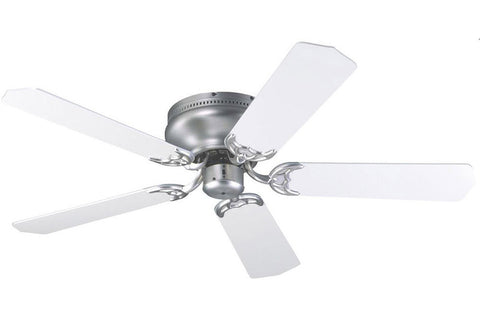 "Craftmade PFC52BN 52"" Contemporary Flushmount Ceiling Fan in Brushed Nickel"