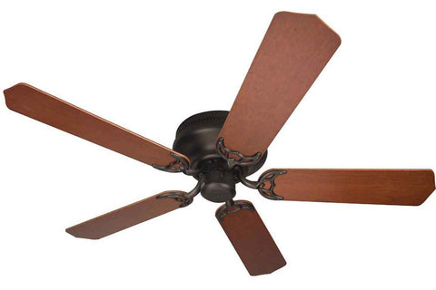 "Craftmade PFC52OB 52"" Contemporary Flushmount Ceiling Fan in Oiled Bronze"