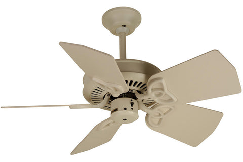 "Craftmade PI30AW 30"" Piccolo Ceiling Fan in Antique White"