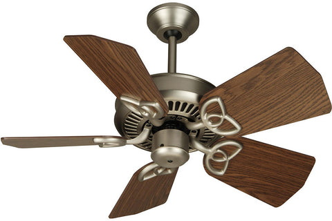 "Craftmade PI30BN-B530S-DOK 30"" Piccolo Ceiling Fan in Brushed Nickel"