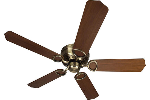"Craftmade PUH52AB 52"" Universal Hugger Ceiling Fan in Antique Brass"
