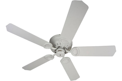 "Craftmade PUH52W 52"" Universal Hugger Ceiling Fan in Gloss White"