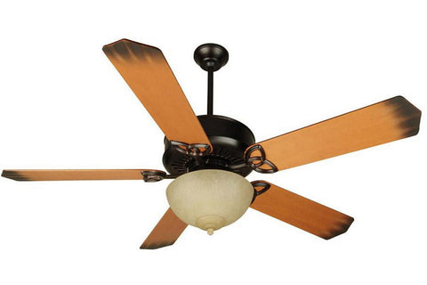 "Craftmade SN52-OB 52"" Sentry Ceiling Fan in Oiled Bronze"