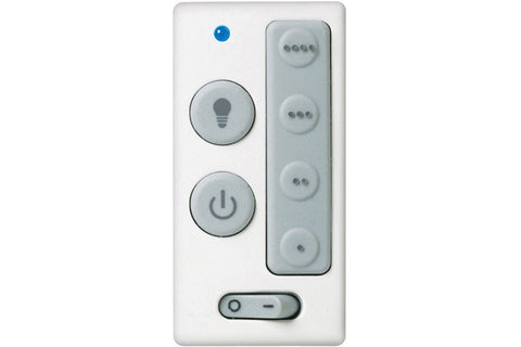 Emerson SW406 White, Ivory, Light Almond (Battery) Four-Speed Wall Control