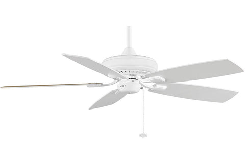 "Fanimation TF610WH-WH 52"" EdgeWood Decorative Ceiling Fan in White"