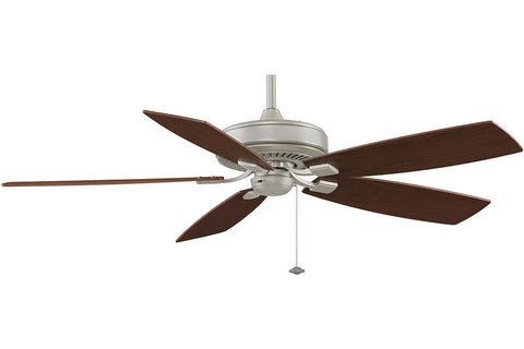 "Fanimation TF710SN-WA 60"" EdgeWood Deluxe Ceiling Fan in Satin Nickel"