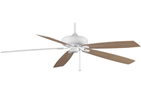 "Fanimation TF721WH-WO 72"" Edgewood Supreme Ceiling Fan in White"
