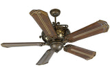 "Craftmade TO52PR 56"" Toscona Ceiling Fan in Peruvian"