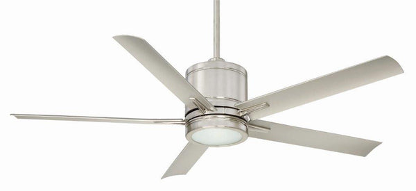 "Regency Vail 52"" Brushed Nickel Ceiling Fan - Indoor"