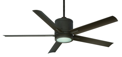 "Regency Vail 52"" Oil Rubber Bronze Ceiling Fan - Outdoor Wet"