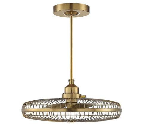 Savoy House Wetherby Fan D'lier - Soft Brass 29-FD-122-322