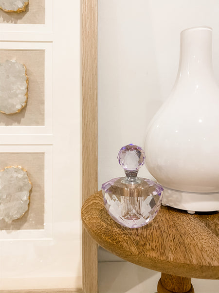 Glass Perfume Bottle | Lavender