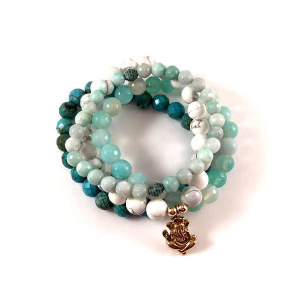Aqua Stack | Ganesha | Your Choice of Metal