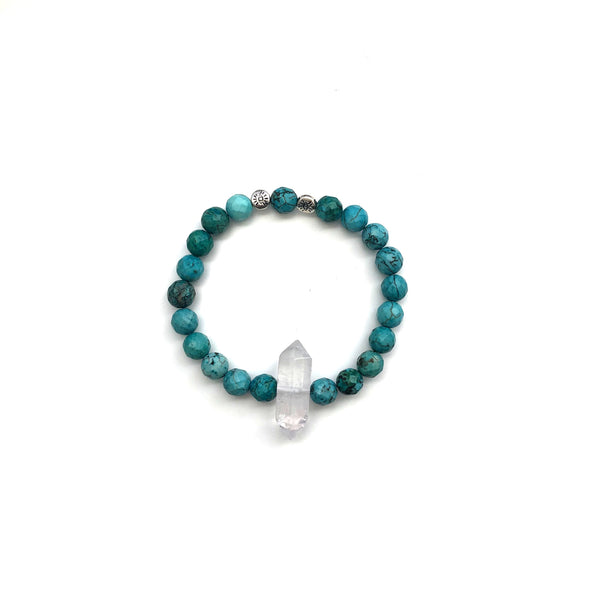 ALL GOOD JUJU Bracelet in Magnesite Turquoise