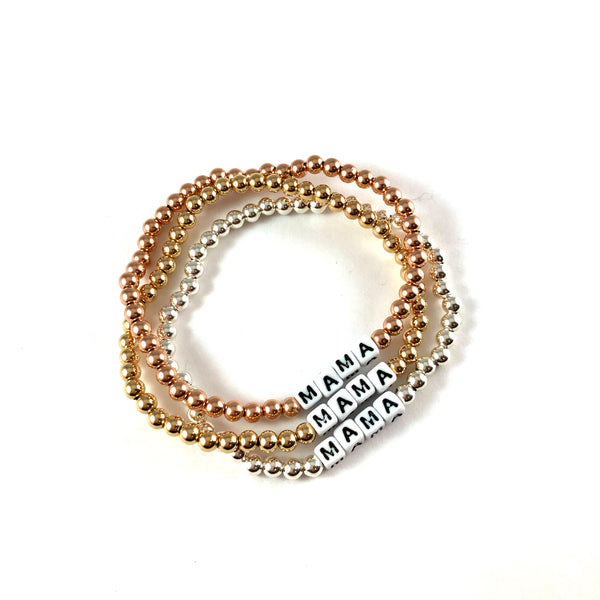 Dice MAMA Bracelet (Imperfect) | Gold Filled, Rose Gold Filled or Sterling