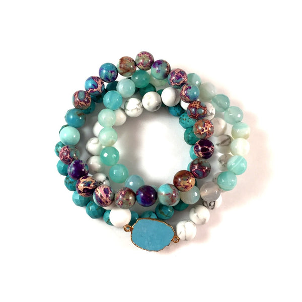 LIMITED EDITION | Turquoise + Purple Stack