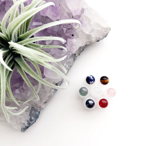 Gemstone Roller Balls | Set of 7