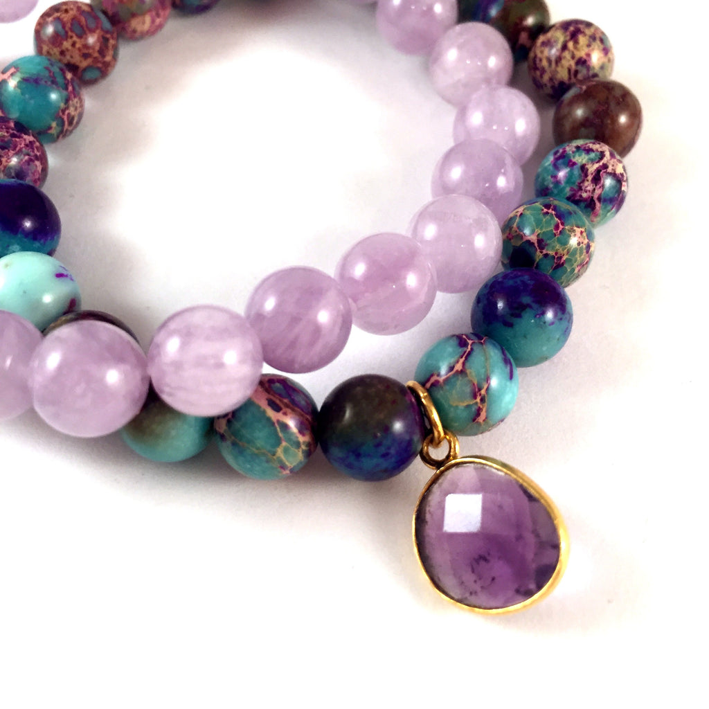 LIMITED EDITION | Amethyst + Aqua Stack