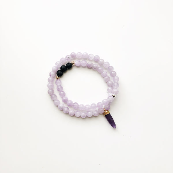 THAT GOOD JUJU Beaded Diffuser Wrap | Amethyst