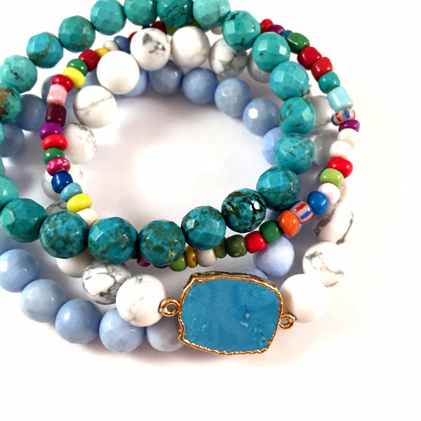 LIMITED EDITION | Turquoise Fiesta Stack