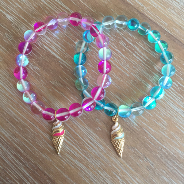 Be Sweet Bracelet | Teal | Livvi's Rainbow For Charity