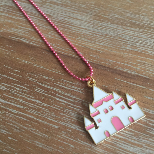Princess Castle Necklace | Livvi's Rainbow for Charity