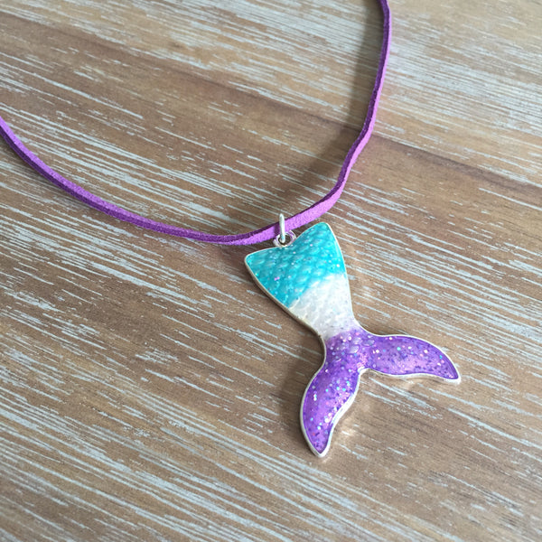 Mermaid Tail Necklace | Livvi's Rainbow for Charity