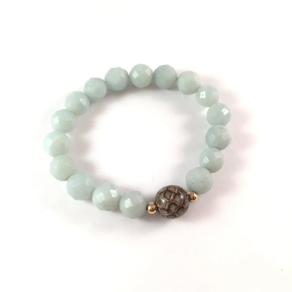 Amazonite Manasa Bracelet | Limited Edition Only 2 Left