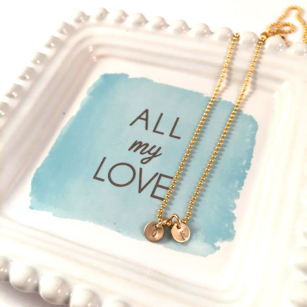 Dot Necklace | Dot Charms Only