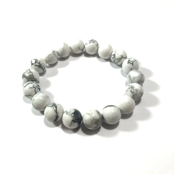 Duo Stack | Howlite | 10mm