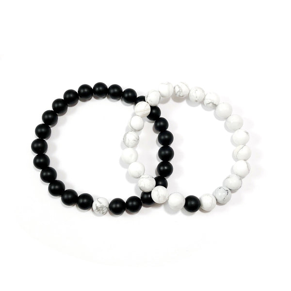 A Piece of Me Set | Lovers | Howlite + Onyx