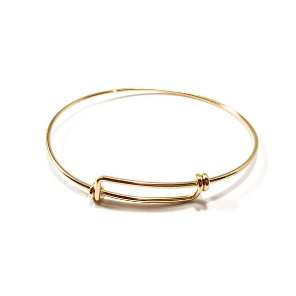 Bangle | Gold Filled, Rose Gold Filled or Sterling
